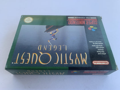 Mystic Quest Complete In Box