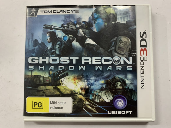 Tom Clancy's Ghost Recon Shadow Wars Complete In Original Case