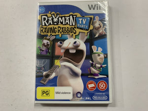 Rayman Raving Rabbids Brand New & Sealed