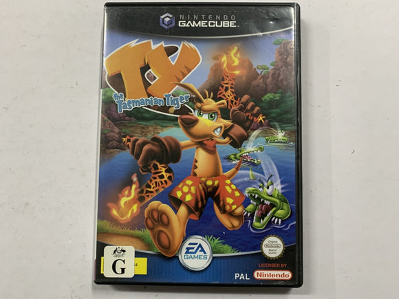 TY The Tasmanian Tiger Complete In Original Case