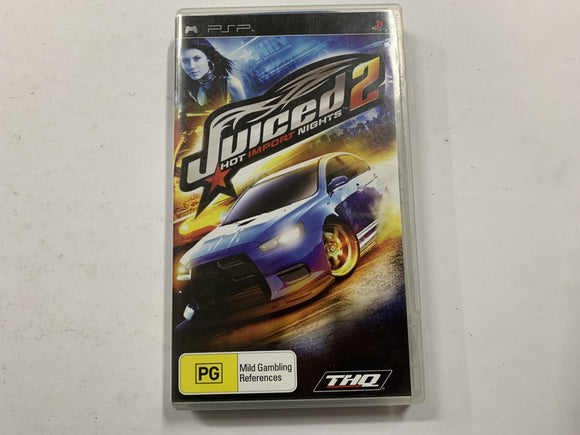 Juiced 2 Hot Import Nights Complete In Original Case