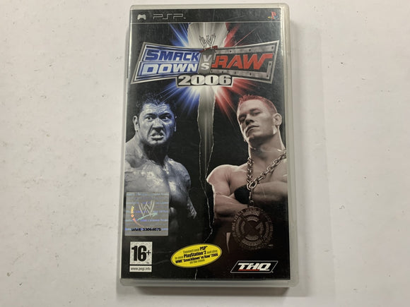 Smackdown VS Raw 2006 Complete In Original Case