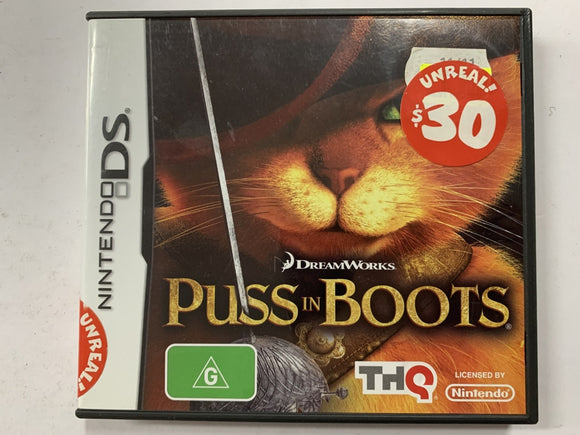 Puss In Boots Complete In Original Case
