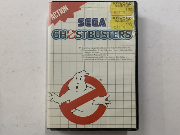 Ghostbusters Complete In Original Case