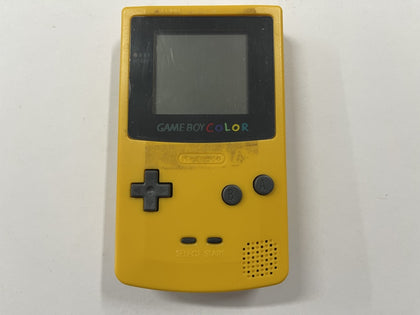 Dandeloin Yellow Nintendo Gameboy Color Console