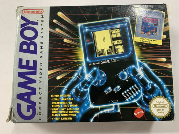 Original DMG Gameboy Console Complete in Box