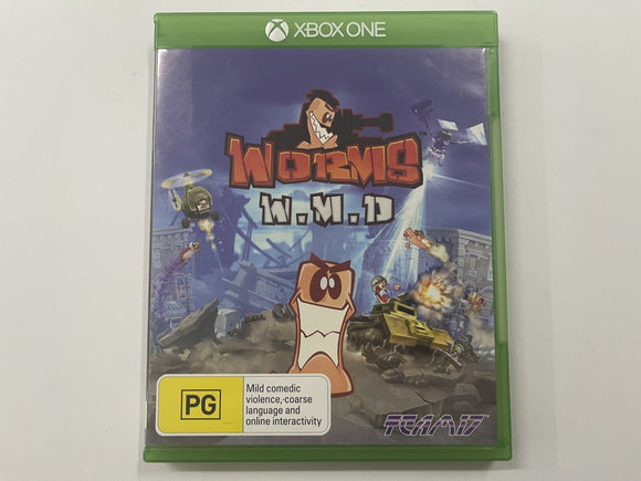 Worms W.M.D Complete In Original Case