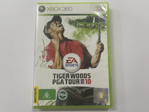 Tiger Woods PGA Tour 10 Complete In Original Case