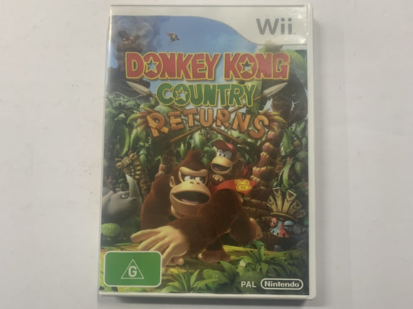 Donkey Kong Country Returns Complete In Original Case