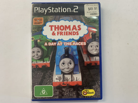 Thomas & Friends A Day At The Races In Original Case