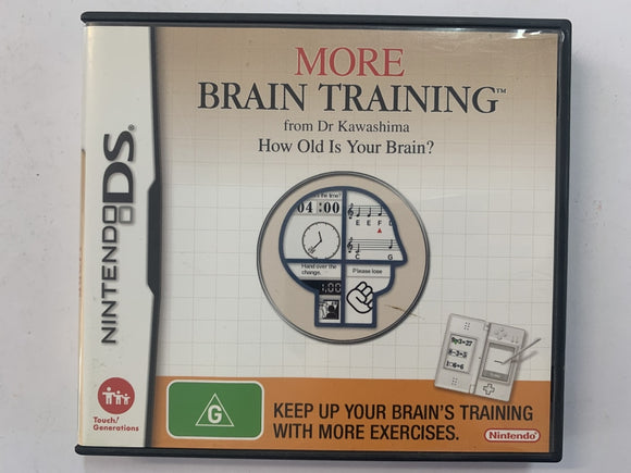 More Brain Training Complete In Original Case
