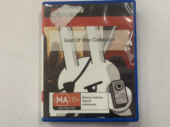 God Of War Collection In Original Case missing Front Cover