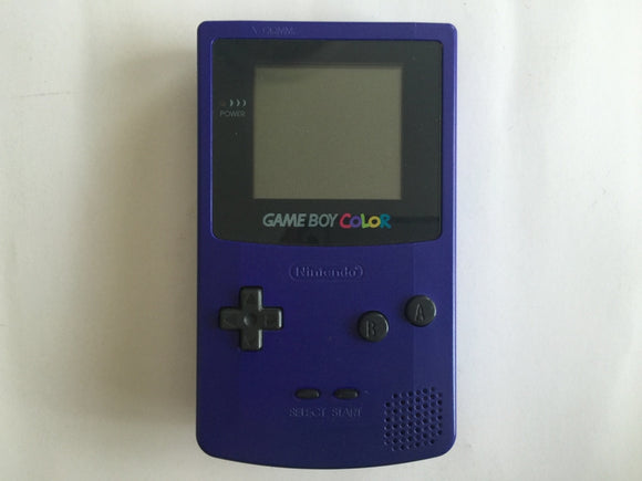 Indigo Purple Nintendo Gameboy Color Console