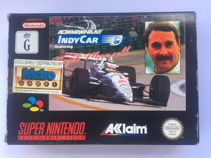 Nigel Mansell's Indy Car Newman Haas Complete In Box