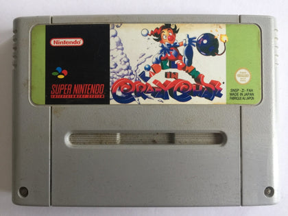 Kid Clown In Crazy Chase Cartridge