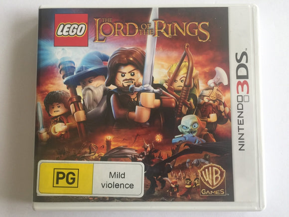 Lego The Lord Of The Rings Complete In Original Case