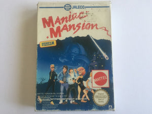 Maniac Mansion Complete In Original Box