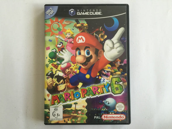 Mario Party 6 Case & Manual Only