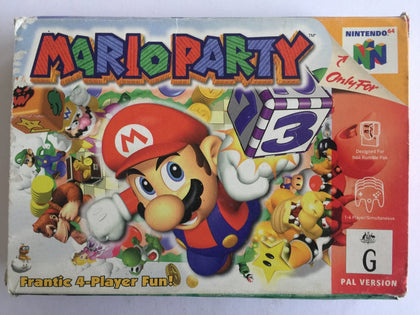Mario Party Complete In Box