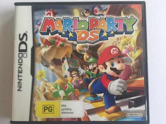 Mario Party DS Complete In Original Case