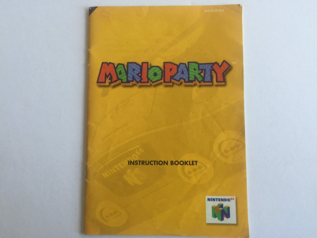 Mario Party Game Manual