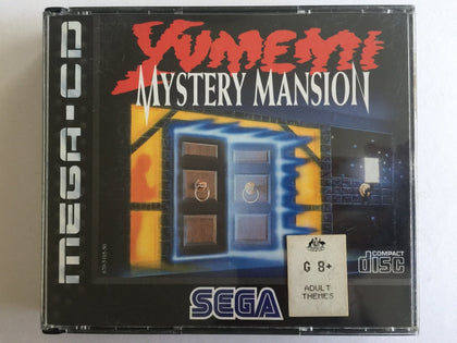 Yumemi Mystery Mansion Complete In Original Case for Sega Mega CD
