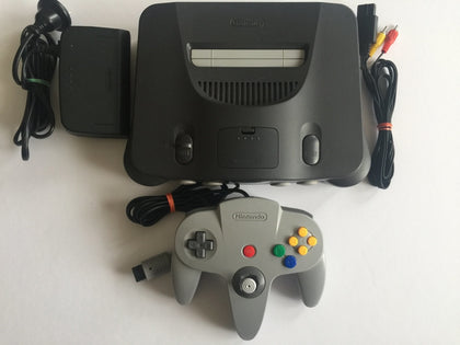 Nintendo 64 N64 Console with All Cords and 1 Controller