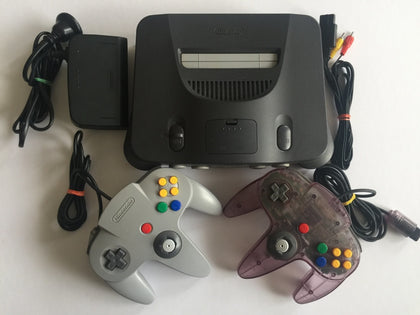 Nintendo 64 N64 Console With 2 Controllers