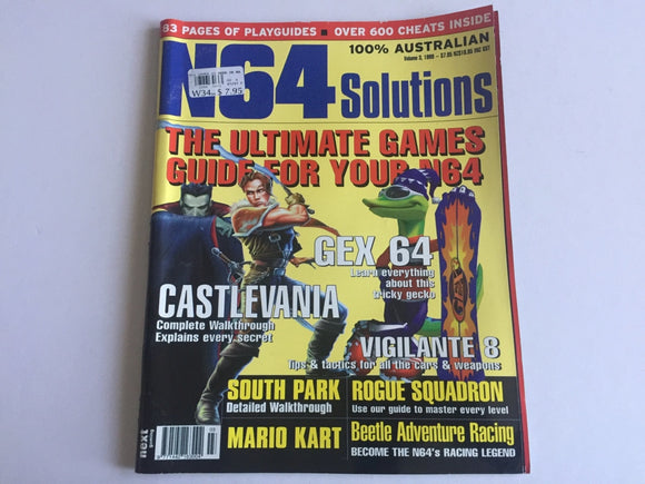 Nintendo 64 N64 Solutions Magazine Volume 3, 1999