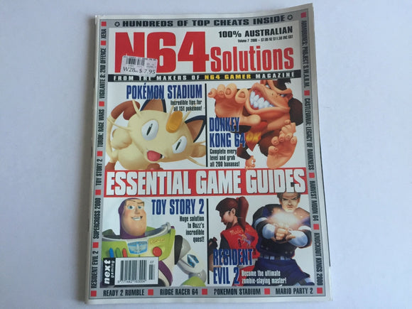 Nintendo 64 N64 Solutions Magazine Volume 7, 2000