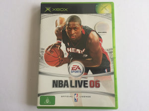 NBA Live 06 Complete In Original Case