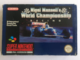 Nigel Mansell's World Championship Racing Complete in Box