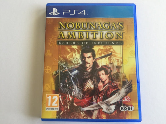 Nobunaga's Ambition: Sphere Of Influence Pre Owned