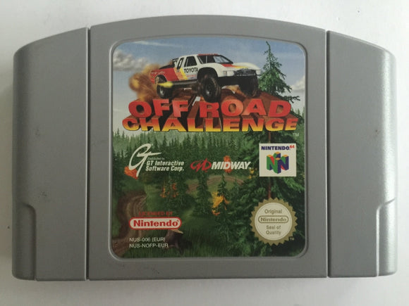 Off Road Challenge Cartridge