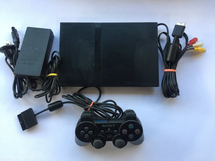 Sony Playstation 2 PS2 Slim Console with 1 Controller