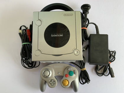 Limited Edition Platinum Silver GameCube Console with Controller