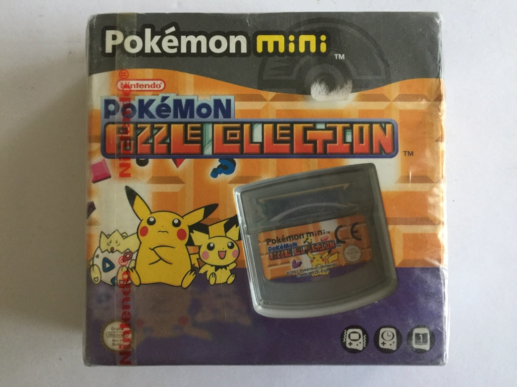Pokemon Puzzle Collection for Pokemon Mini Brand New & Sealed with Nintendo Red Stripe
