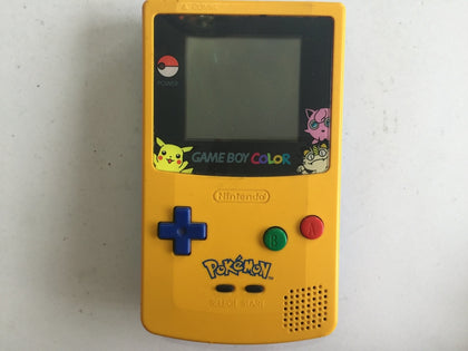 Limited Special Edition Pokemon Pikachu Gameboy Color Console