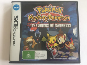 Pokemon Mystery Dungeon Explorers Of Darkness Complete In Original Case