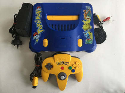 Limited Special Edition Pokemon Nintendo 64 N64 Console
