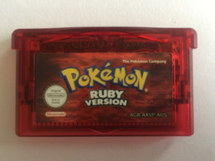 Pokemon Ruby Cartridge