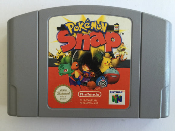 Pokemon Snap Cartridge