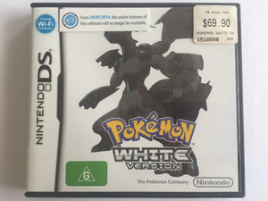 Pokemon White Complete In Original Case