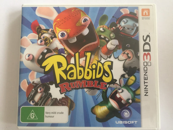 Rabbids Rumble Complete In Original Case