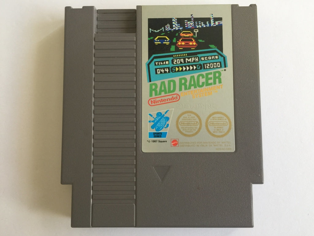 Rad Racer Cartridge