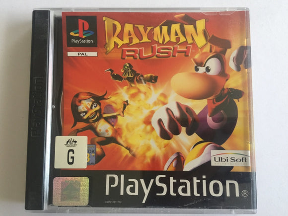 Rayman Rush Complete In Original Case