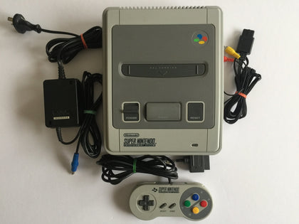 Super Nintendo Snes Console With 1 Controller