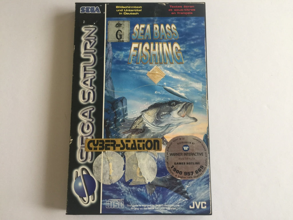 Sea Bass Fishing for Sega Saturn