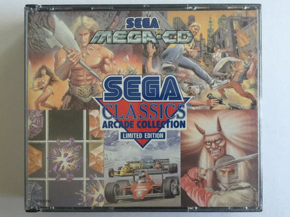Sega Classics Arcade Collection Complete In Original Case for Sega Mega CD