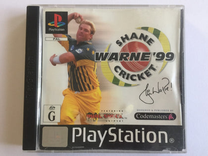 Shane Warne Cricket 99 Complete In Original Case